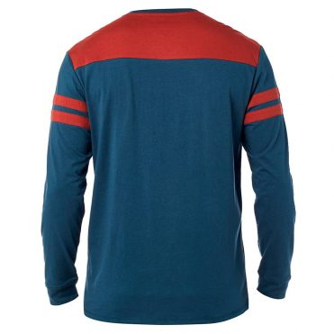 FOX Race Team Long Sleeve Airline T-Shirt Navy Red