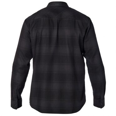 FOX Voyd Flannel Shirt Black Vintage