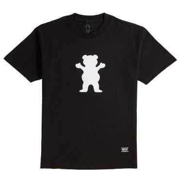 Grizzly OG Bear Basic T-Shirt Black White