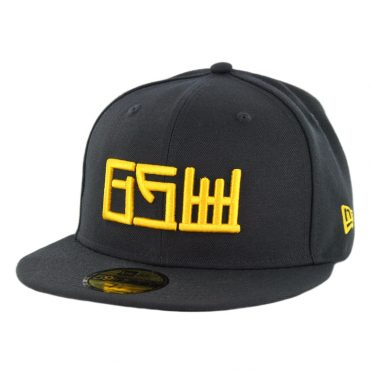 New Era 59Fifty Golden State Warriors Alternate City Series 2018 Fitted Hat Black