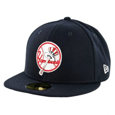 New Era 59Fifty New York Yankees Metal Thread Fitted Hat Dark Navy ... 91354accb78c