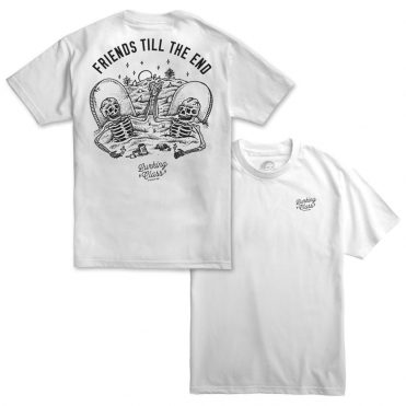 Sketchy Tank Till The End T-Shirt White