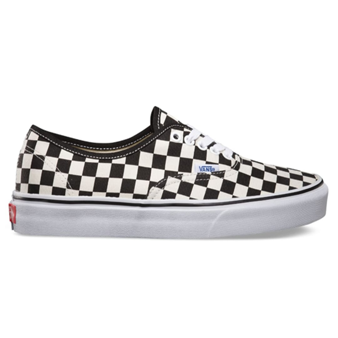 26fda9ce039853 Vans Golden Coast Authentic Shoe Black White Checkerboard - Billion  Creation Streetwear