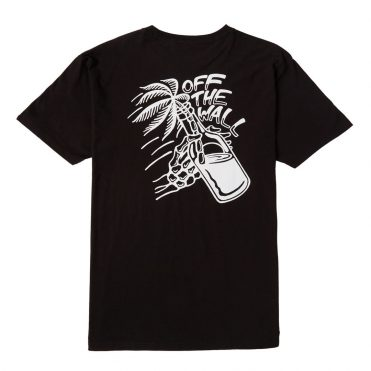 Vans Off The Wall Cocktail T-Shirt Black
