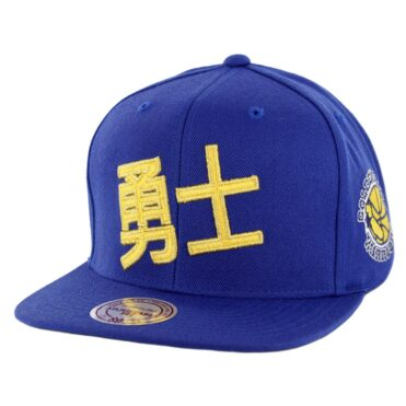 Mitchell & Ness Golden State Warriors Chinese New Year 2019 Snapback Hat Royal Blue