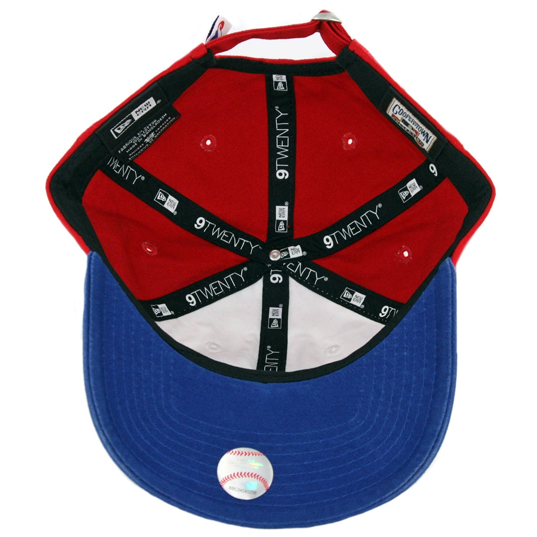 d47042f0034 New Era 9Twenty Montreal Expos Cooperstown Strapback Hat Royal Blue Red  White. 🔍.  19.99