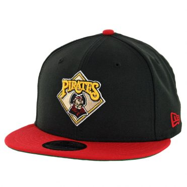 New Era 9Fifty Pittsburgh Pirates Cooperstown Logo Pack Snapback Black