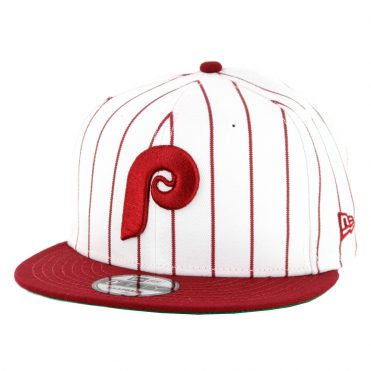 New Era 9Fifty Philadelphia Phillies Cooperstown Logo Pack Snapback Hat White