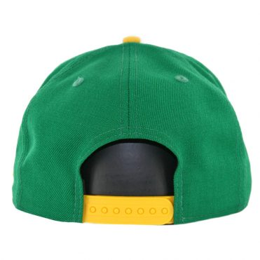 New Era 9Fifty Oakland Athletics Cooperstown Logo Pack Snapback Hat Kelly Green