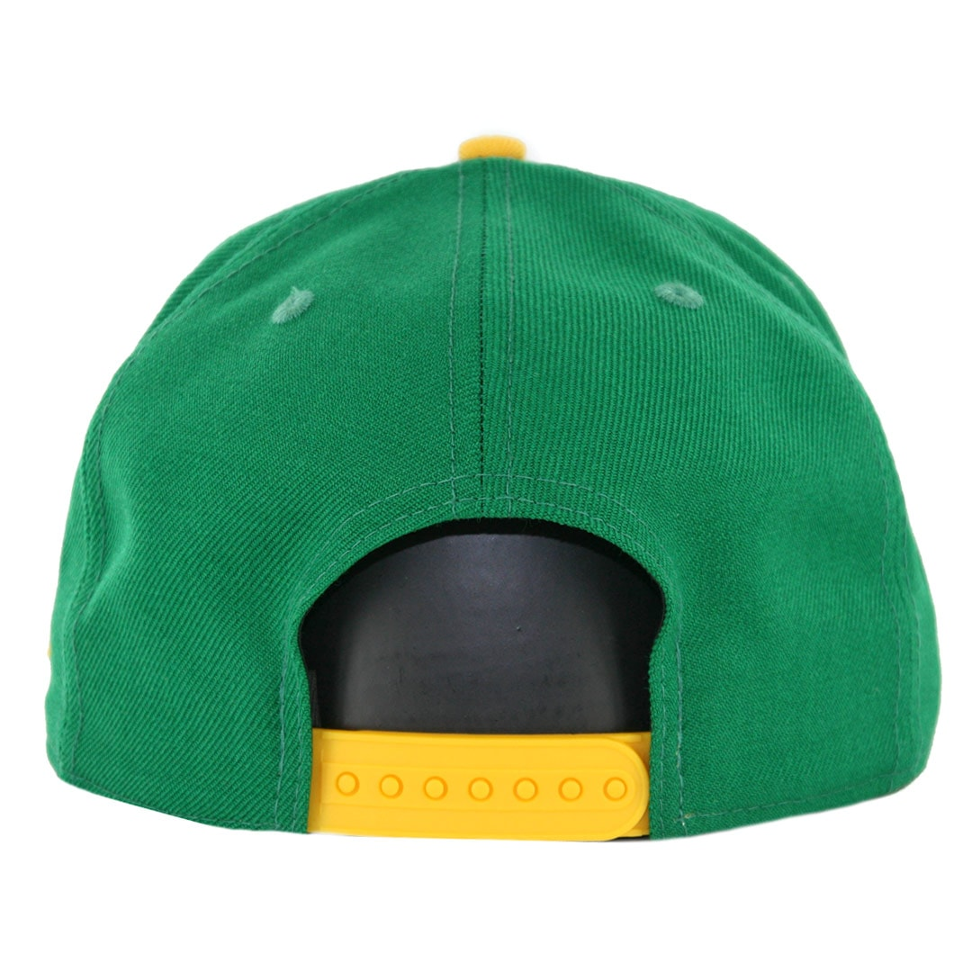 New Era 9Fifty Oakland Athletics Cooperstown Logo Pack Snapback Hat Kelly  Green 13dbb52efcf