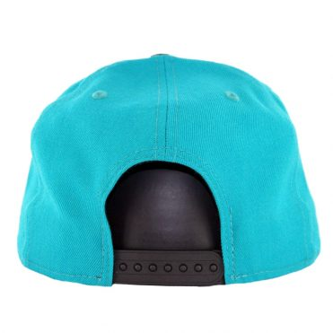 New Era 9Fifty Florida Marlins Cooperstown Logo Pack Snapback Hat Teal