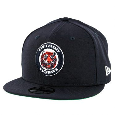 New Era 9Fifty Detroit Tigers Cooperstown Logo Pack Snapback Hat Dark Navy