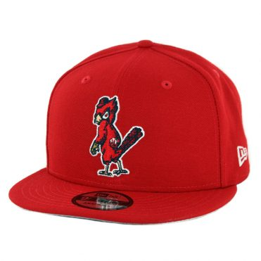 New Era 9Fifty St. Louis Cardinals Cooperstown Logo Pack Snapback Hat Red