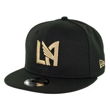 New Era 9Fifty MLS Los Angeles Football Club Basic Snapback Hat Black