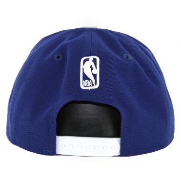 New Era 9Fifty Los Angeles Lakers Wordmark Snapback Hat Dark Royal