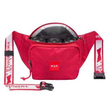 HUF x Budweiser Cooler Side Bag Red