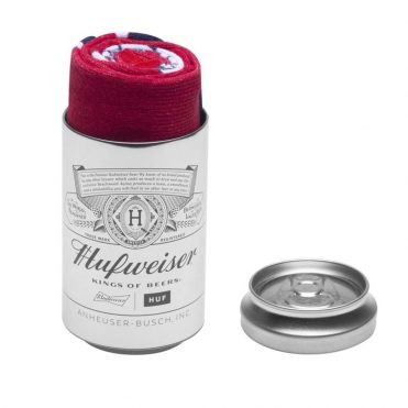 HUF x Budweiser This Buds For You Crew Sock Red