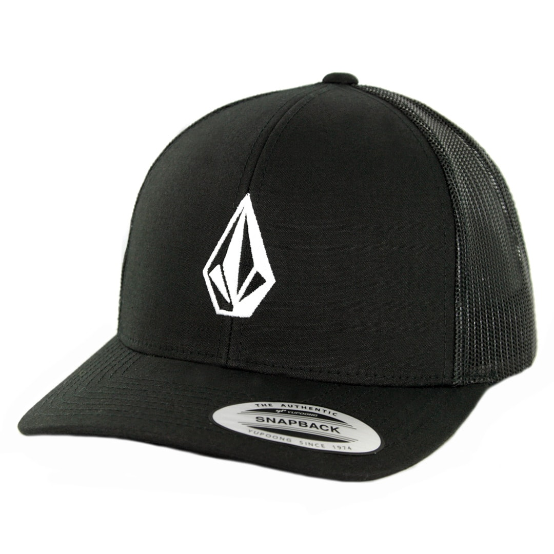 Volcom Full Stone Cheese Snapback Hat New Black - Billion Creation  Streetwear 3a24aa4168a
