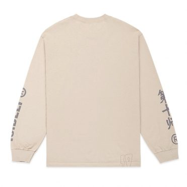 10 Deep Damage Control Long Sleeve T-Shirt Tan