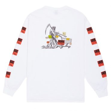 10 Deep Paid In Full Long Sleeve T-Shirt White