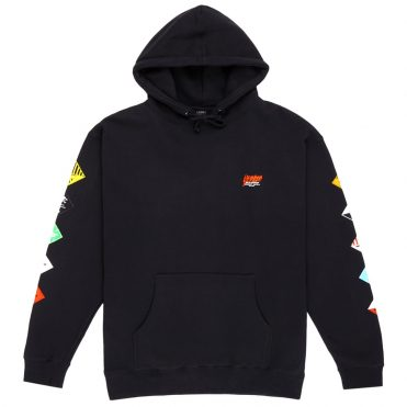 10 Deep Prohibited Hooded Sweatshirt Black