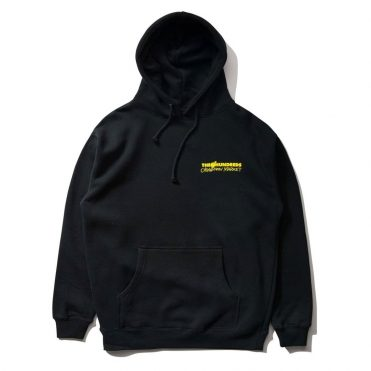 The Hundreds x Chinatown Crossout Adam Pullover Hooded Sweatshirt Black