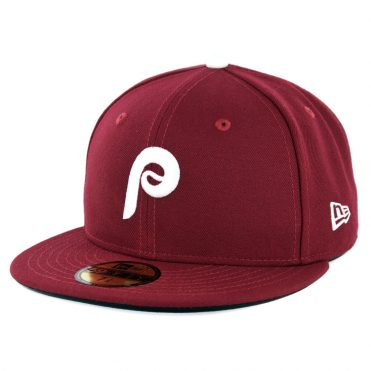 New Era 59Fifty Philadelphia Phillies Alternate 2 Authentic On Field Fitted Hat Cardinal