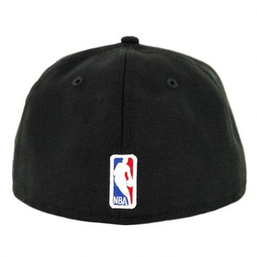 New Era 59Fifty Los Angeles Lakers Fitted Hat Black