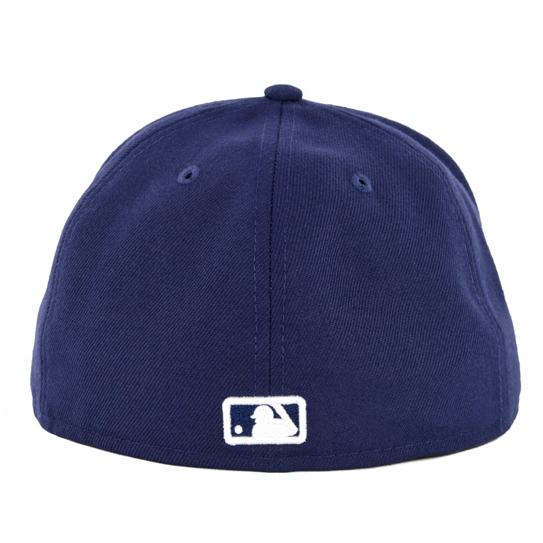 fa3cbba498b New Era 59Fifty San Diego Padres Metal Thread Fitted Hat Light Navy ...