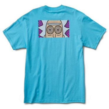 Primitive x Rick & Morty Rick Hypno Eyes T-Shirt Pacific Blue