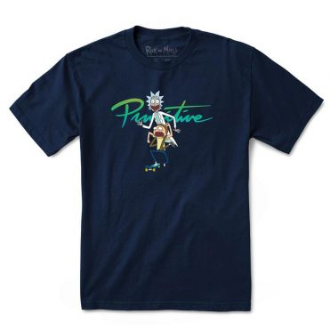 Primitive x Rick & Morty Skate T-Shirt Navy