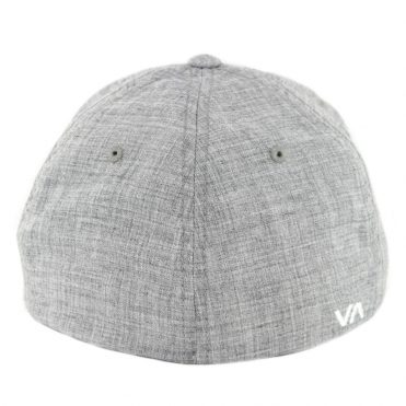 RVCA Scores Flex Fit Hat Heather Grey