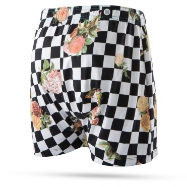 Stance Floral Check Out BX Boxer Brief Black
