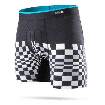 Stance Squared Off Boxer Brief Black