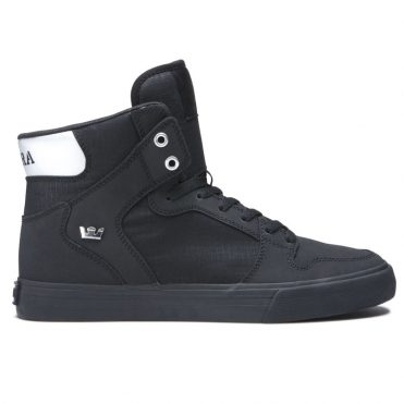 Supra Vaider Shoe Black Chrome