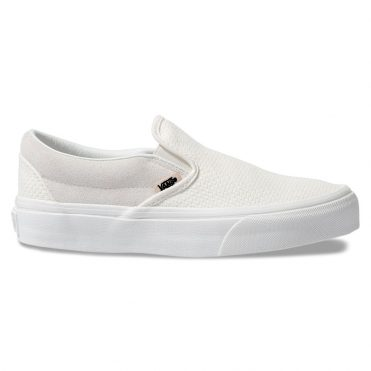 Vans Classic Slip-On Woven Shoe Marshmallow Snow White