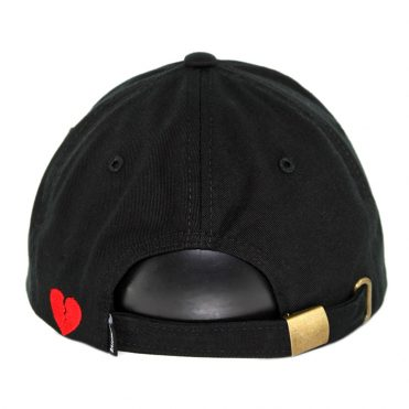Primitive Heartbreakers Club Dad Strapback Hat Black