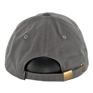 Primitive Burning Dad Strapback Hat Dark Grey