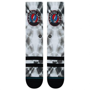 Stance Grateful Dye Sock Black