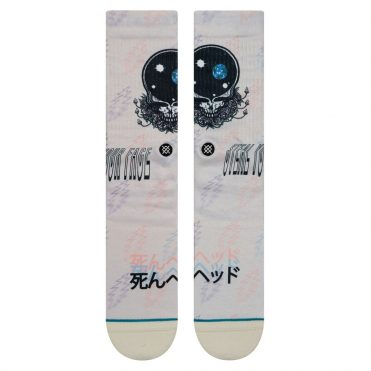 Stance Steal Your Face Sock Natural
