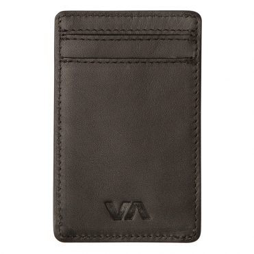 RVCA Clean Card Wallet Black