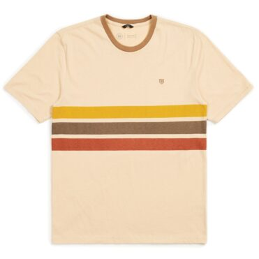 Brixton B-Shield Short Sleeve T-Shirt Parchment