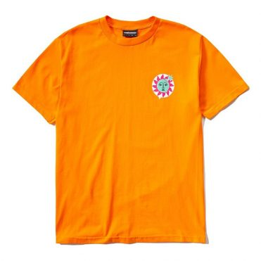 The Hundreds Global Warming T-Shirt Orange