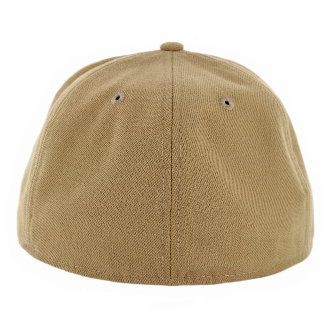 f486ba6a0dd New Era 59Fifty Plain Blank Fitted Hat Khaki Tonal - Billion ...