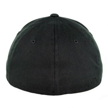 RVCA Scores Flex Fit Hat Black