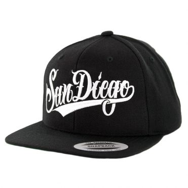 Dyse One SD Script SP19 Snapback Hat Black