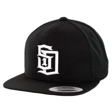 Dyse One SD Snapback Hat Black White