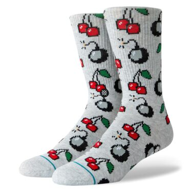 Stance Cherri Bomb Sock Heather Grey