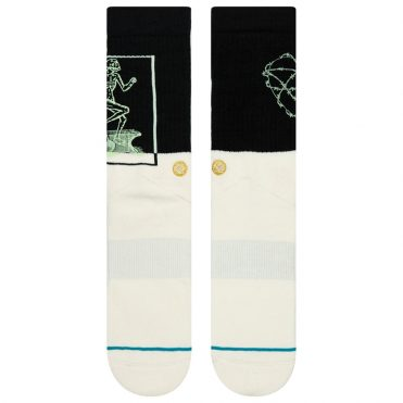 Stance Step Up Sock Black