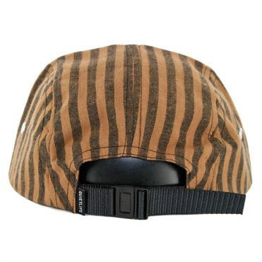 The Quiet Life Indio 5 Panel Camper Clipback Hat Cocoa